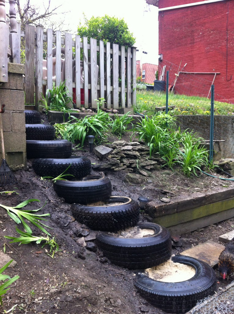 Practical uses for old tires for What to do with old tires