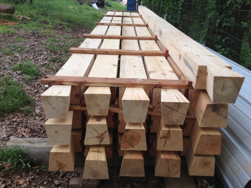 Choosing and preparing the best wood for log cabins How to stain log cabin