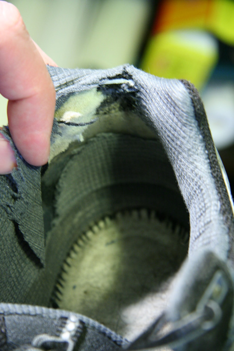 How To Repair The Inside Heel Of A Shoe