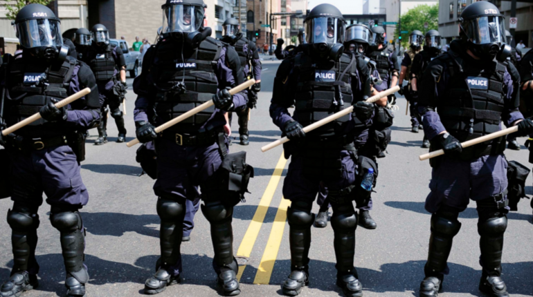 police and prepping