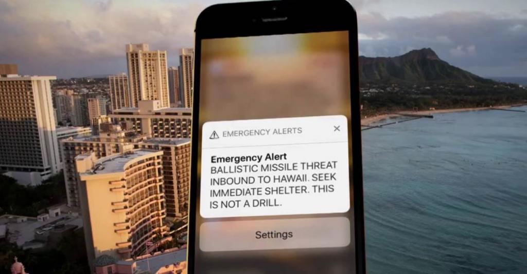 hawaii false alarlm
