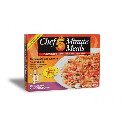 Case of Chef 5 Minute Meals Chicken Cacciatore